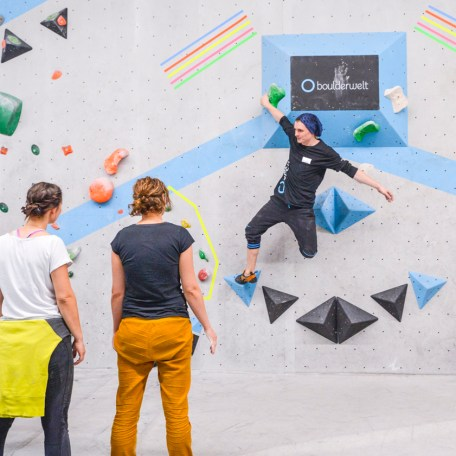 Tech Session Nr 4 2019 in der Boulderwelt Frankfurt