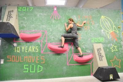 Soulmoves Süd in der Boulderwelt Regensburg, der Spaßwettkampf für Jederman