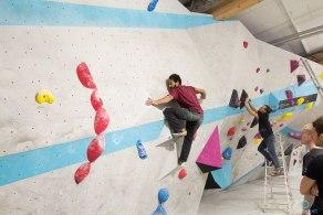 Boulderwelt Routenbau Workshop mit Tonde Katiyo München