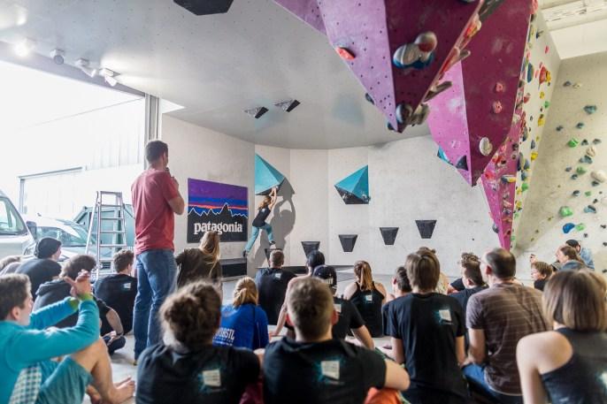 Big Fat Boulder Session BFBS 2017 Boulderwelt München Ost Spaßwettkampf Event Bouldern (40)