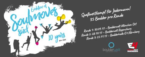 Soulmoves Süd 10 - Boulder Spaßwettkampf in der Boulderwelt München Ost
