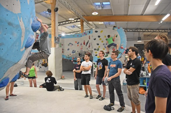 Tech Session 2017 Boulderwelt München