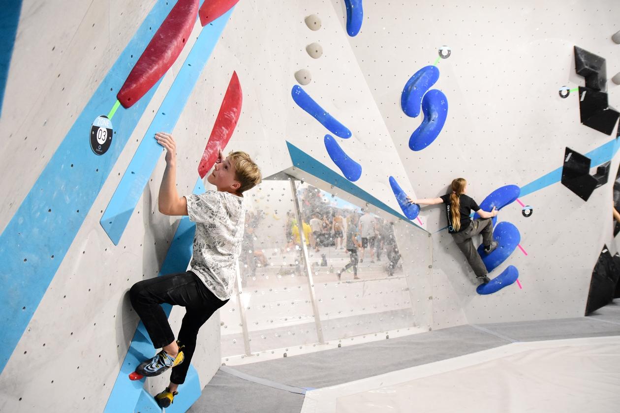 Erste Wettkampfsimulation 2020 für unsere Boulderwelt Youngsters