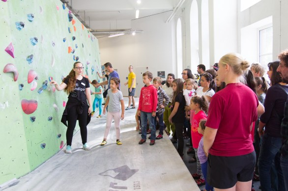 Tag der offenen Tür 2017 Boulderwelt München West
