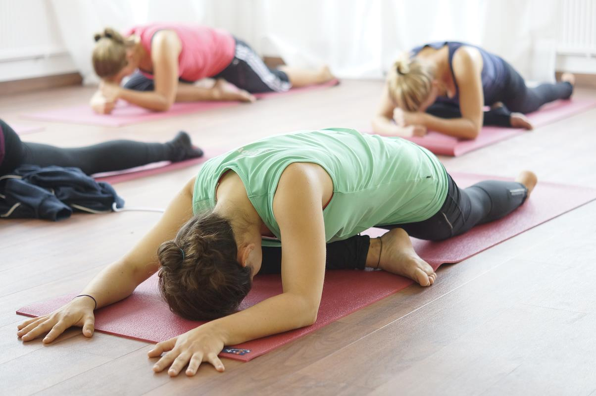 Yoga Kurs offene Stunde Tag der offenen Tür