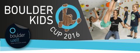 Boulderkids Cup 2016