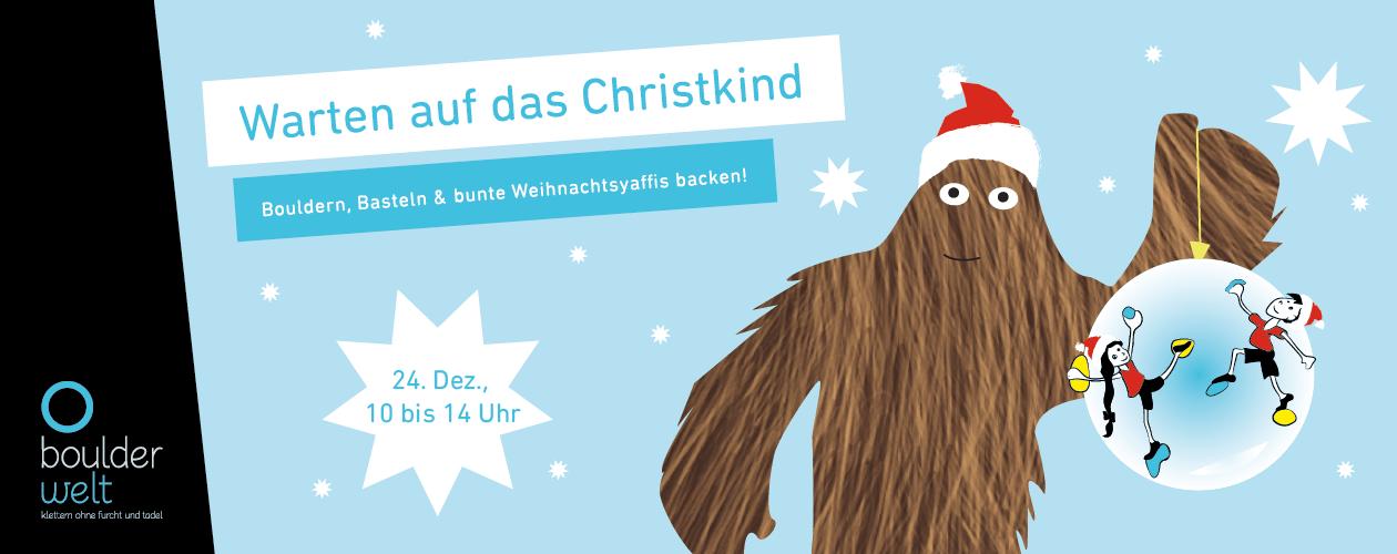 Christkind Bilder Weihnachten.Boulderwelt Regensburg Warten Auf Das Christkind 2018