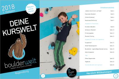 In unserem Boulderwelt Kursbuch findest Du alle Infos und Termine zu unserem Kursangebot.
