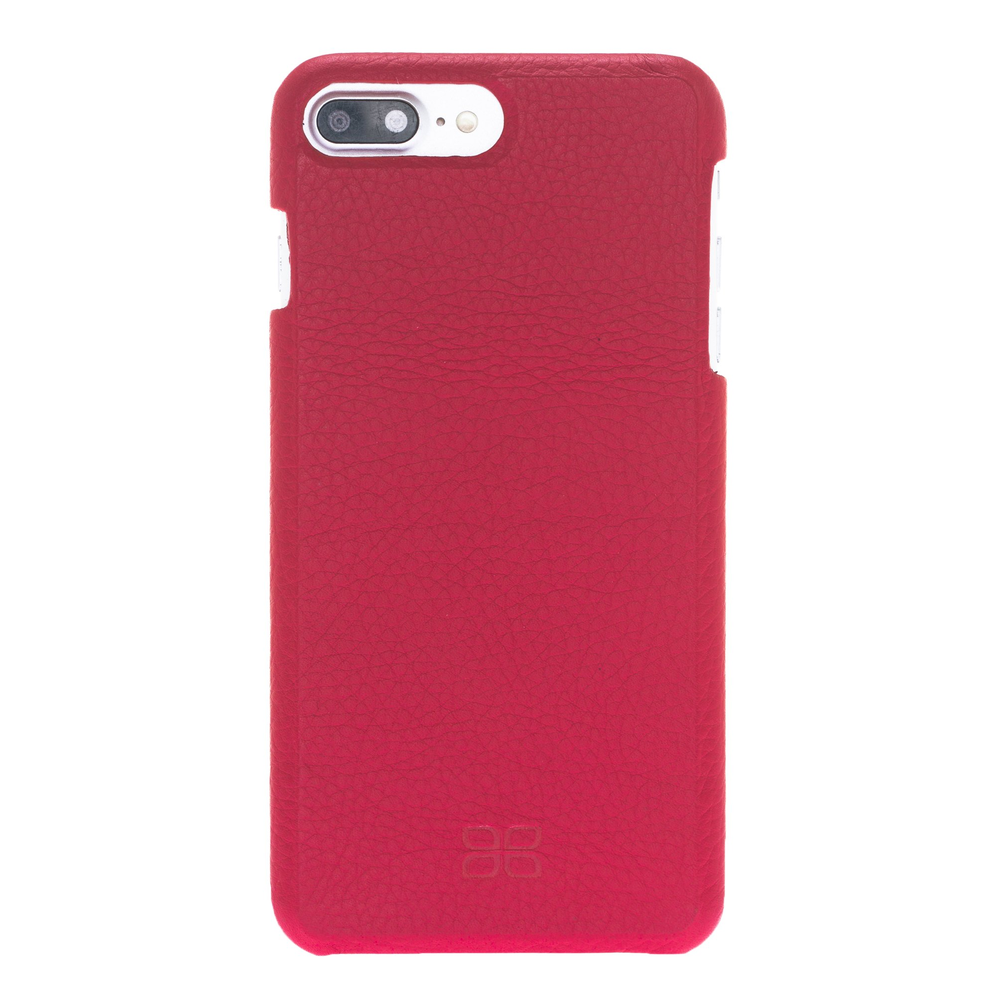 ccee50d44 F360 Leather Back Cover Case for Apple iPhone 7 Plus / 8 Plus – Floater Red