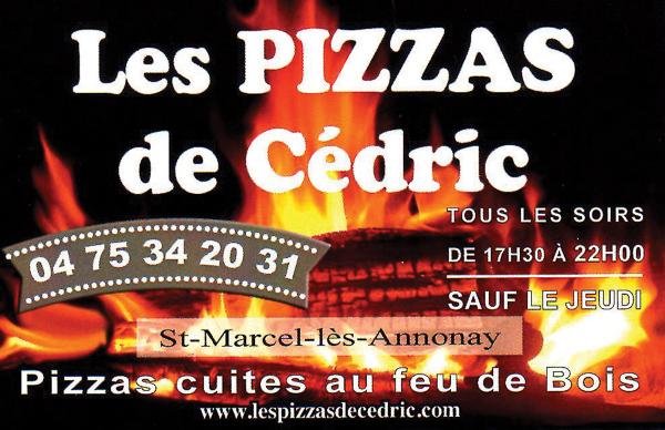 PIZZAS de Cedric Logo
