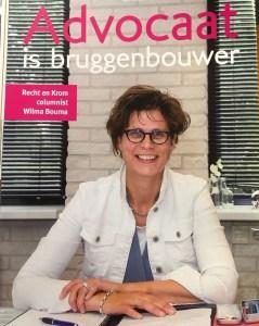 Columnist Wilma Bouma De Riepe straatmagazine Noord-Nederland