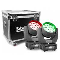 Beamz MHL1915 LED MOVING HEAD 4IN1...