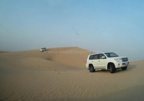 sand dunes bashing