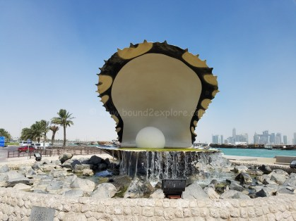 The pearl monument, Doha