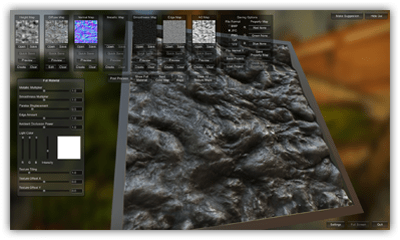 Materialize image to material tool