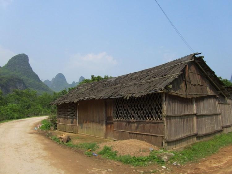 Hiking Along the Li River - Yangshuo - Wooden House