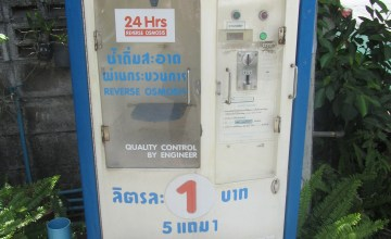 Water Filling Station in Chiang Mai