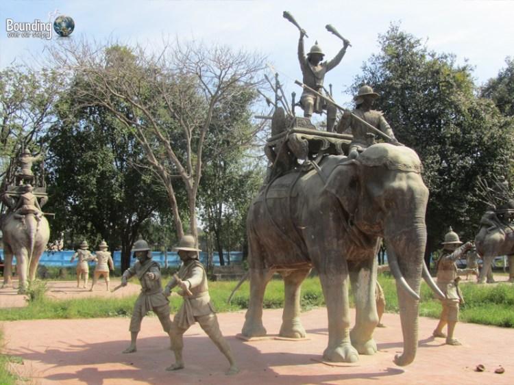 Elephants used in times of war