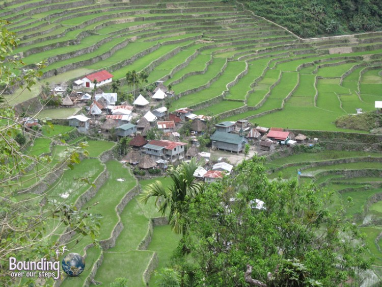 Center village of Batad in the Banaue Rice Terraces