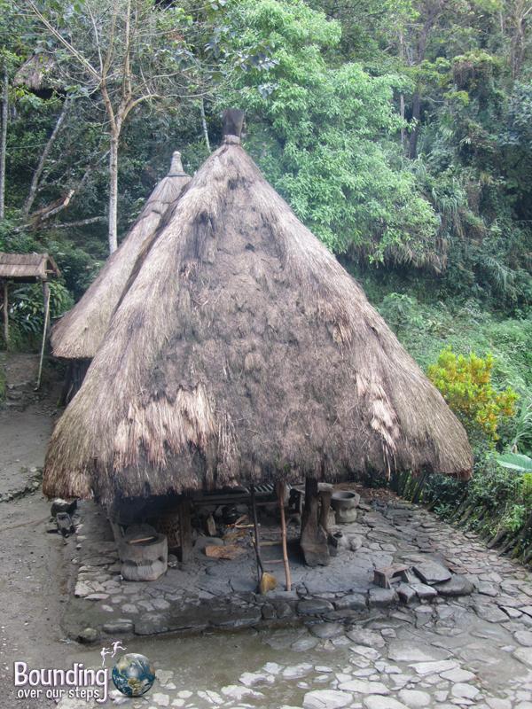 Traditional Ifugao hut in Batad