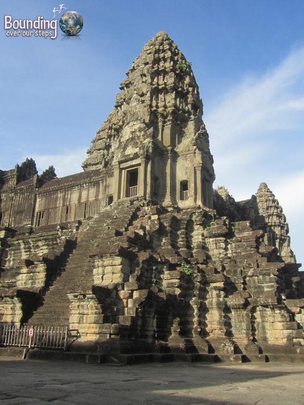 The main temple of Angkor Wat