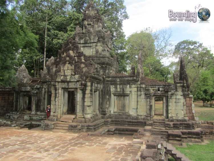 The entrance to Phimeanakas ruins at Angkor Wat, Cambodia