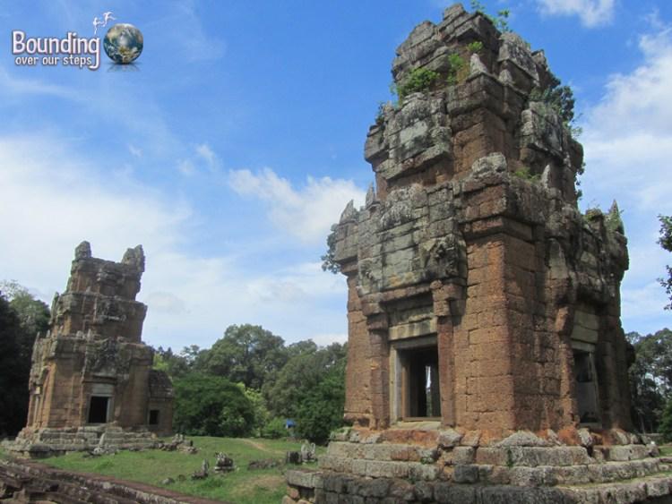 The unassuming and spectacular ruins of Prasats Suor Prat in Angkor Wat, Cambodia