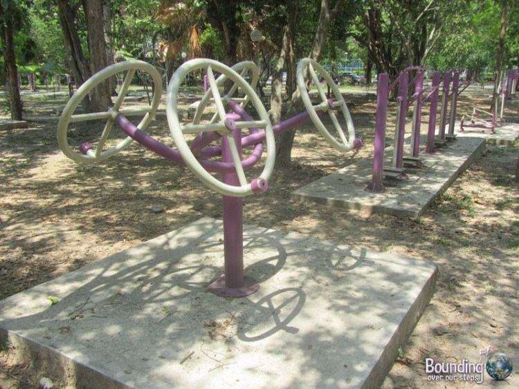 Chiang Mai University Exercise Equipment