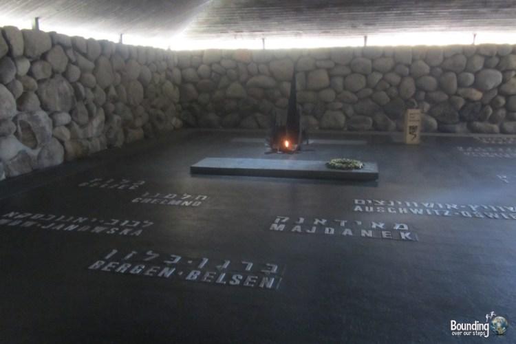 Hall of Remembrance at Yad Vashem in Jerusaelm