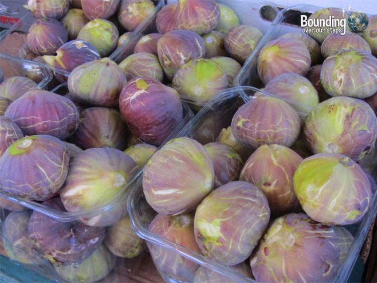 Abundance of fresh figs in Israel