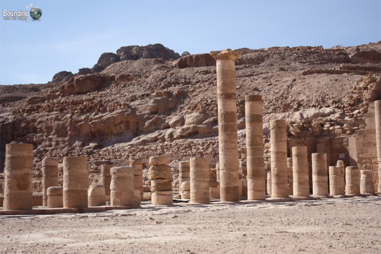 Colonnaded Street at Petra