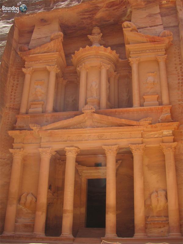 The impressive Treasury at Petra