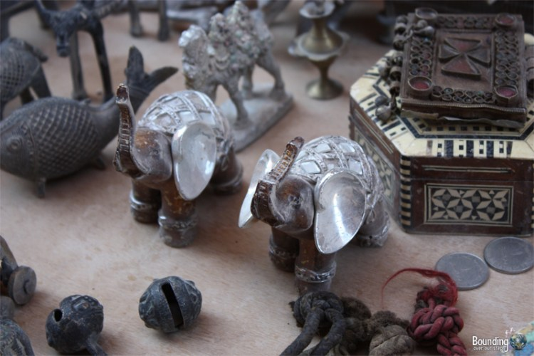 Trinkets for sale everywhere at Petra