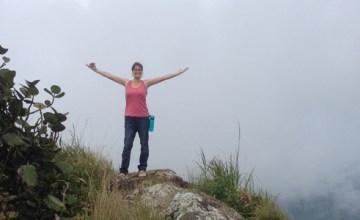 Climbed to the peak of El Yunque, Puerto Rico