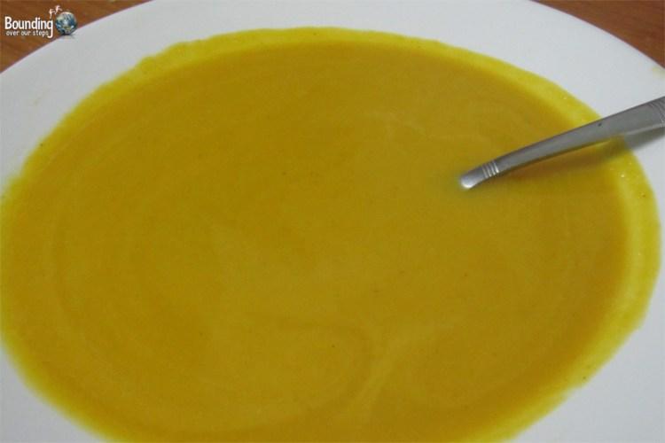 Vegan Thai Pumpkin Soup Recipe