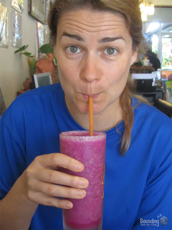Things to do in Chiang Mai - Drink a Fruit Smoothie