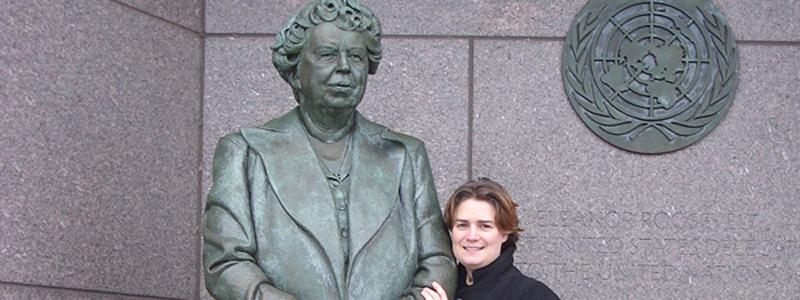 Ligeia with Eleanor Roosevelt