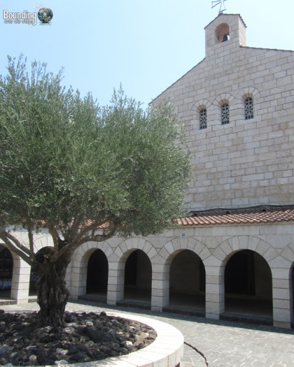 Church of the Multiplication of Loaves and Fishes at the Sea of Galilee