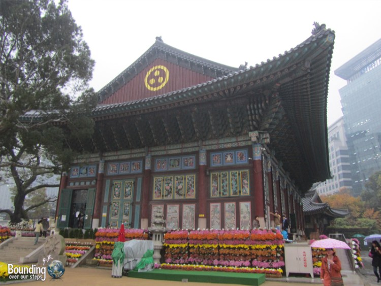 Tour to Jogyesa Temple - Incheon Airport Seoul