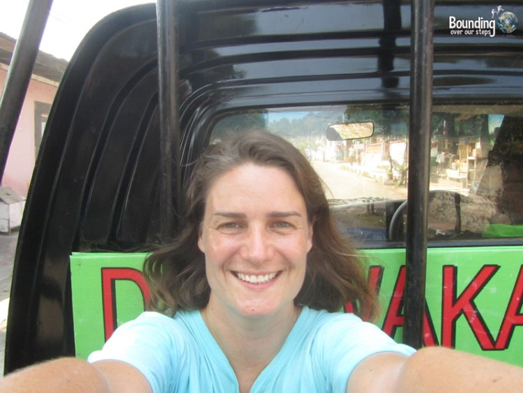 Singaraja to Ubud in a Fruit Truck - Selfie