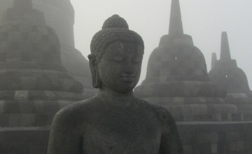 Temples of Yogyakarta - Borobudur and Prambanan
