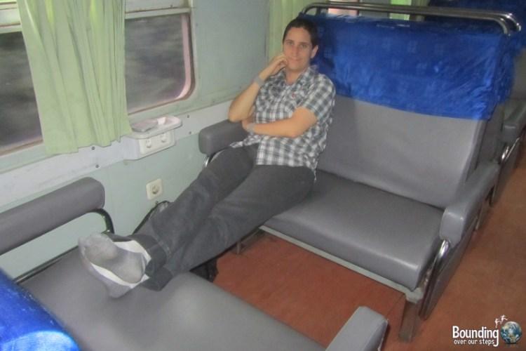 Train Across Java - Bisnis Class