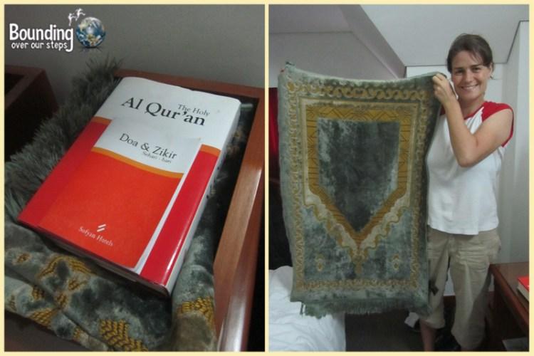 Surviving Sharia Law - Quran and Prayer Rug