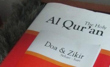 Shariah Law Hotel - Quran and Prayer Rug