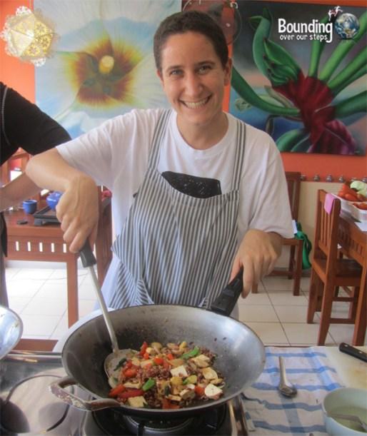 Vegetarian Cooking Class - Anchan Restaurant - Mindy