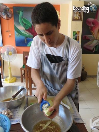 Vegetarian Cooking Class - Anchan Restaurant - Vegetable Peeler