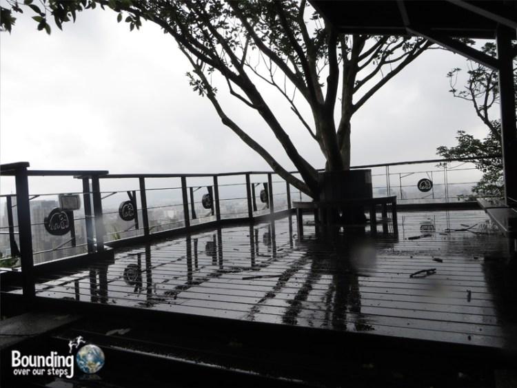 Elephant Mountain - Hiking in Typhoon - Platform