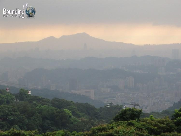 Maokong Gondola - Taipei - Dramatic Sky