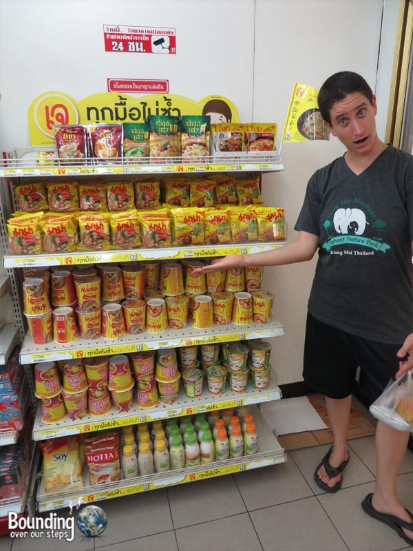 Phuket Vegetarian Festival - 7 Eleven Vegan Food