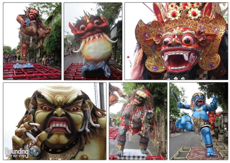 Ogoh Ogoh - Nyepi - Balinese New Year